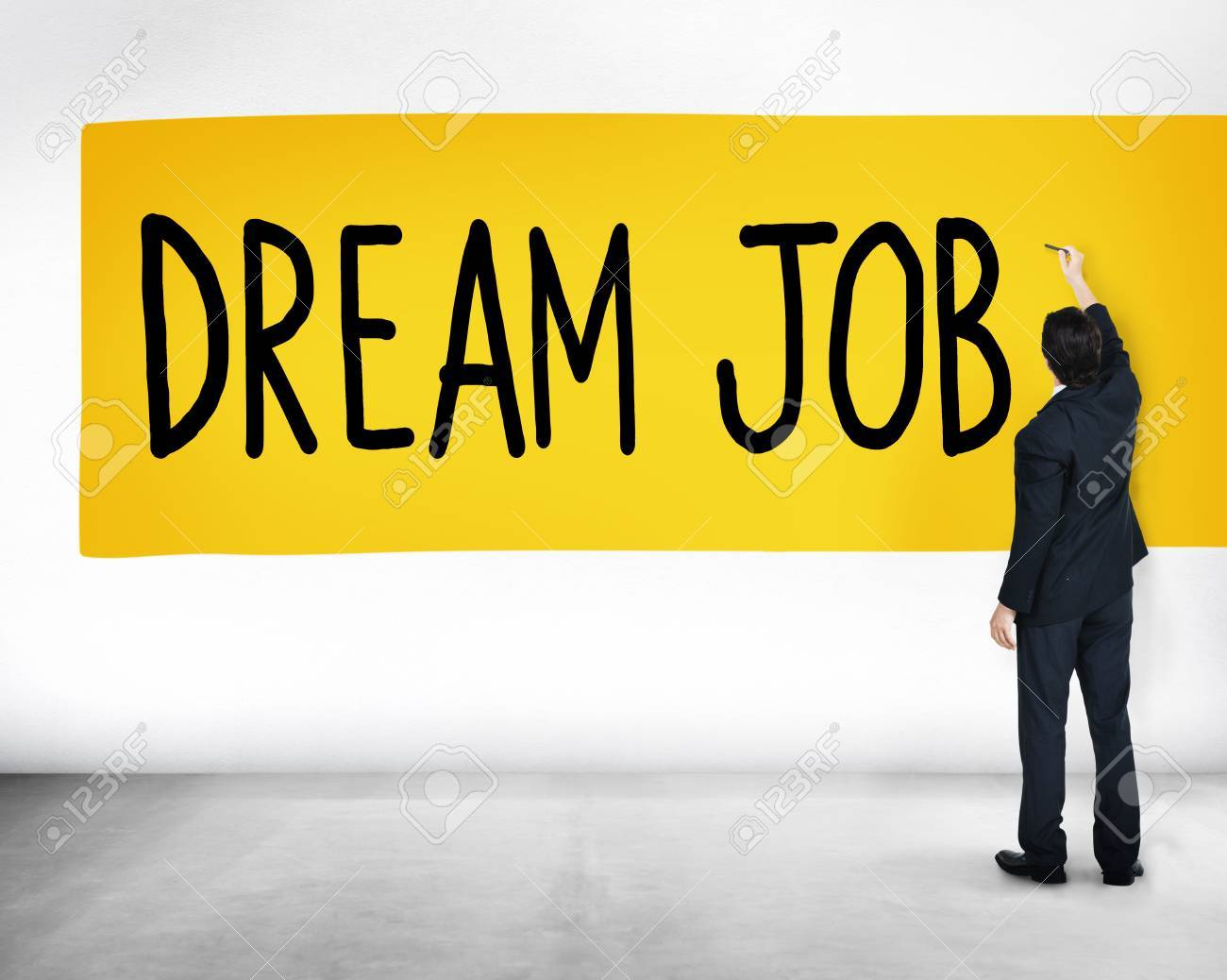 Dream Job Occupation Career Aspiration Concept Stock Photo Picture And Royalty Free Image Image 45622743