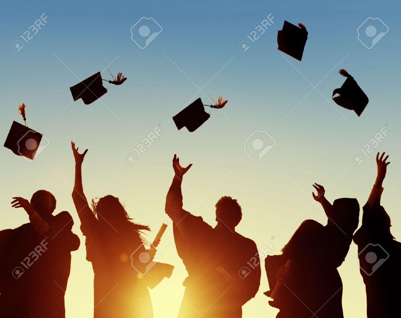Celebration Education Graduation Student Success Learning Concept Stock Photo - 46312047