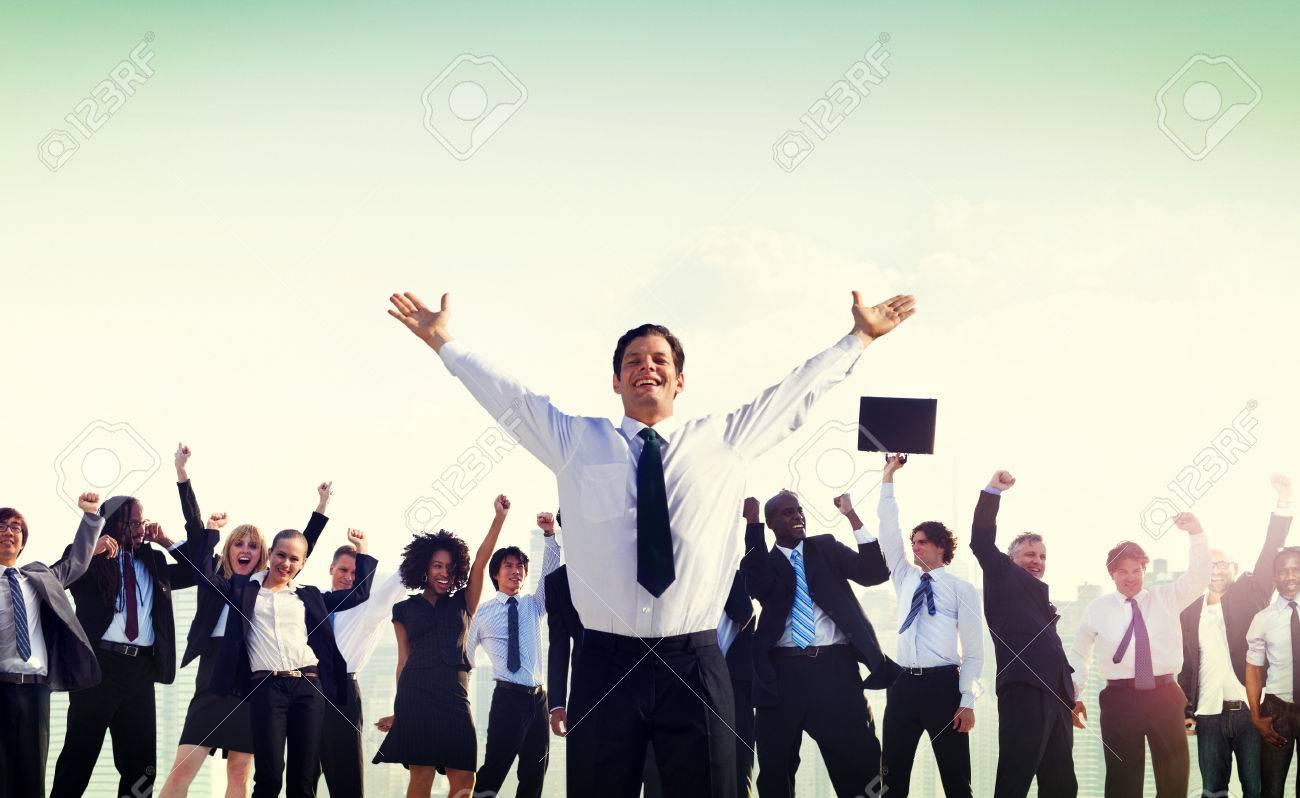 Business People Corporate Success Concept - 51891690