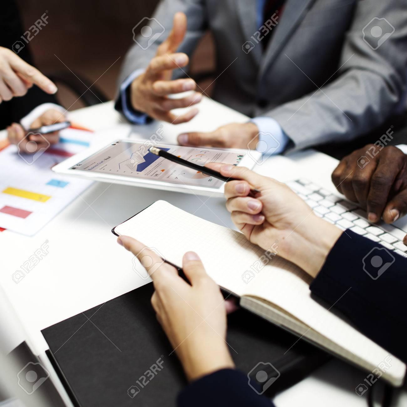 Business Team Corporate Organization Meeting Concept - 51687935