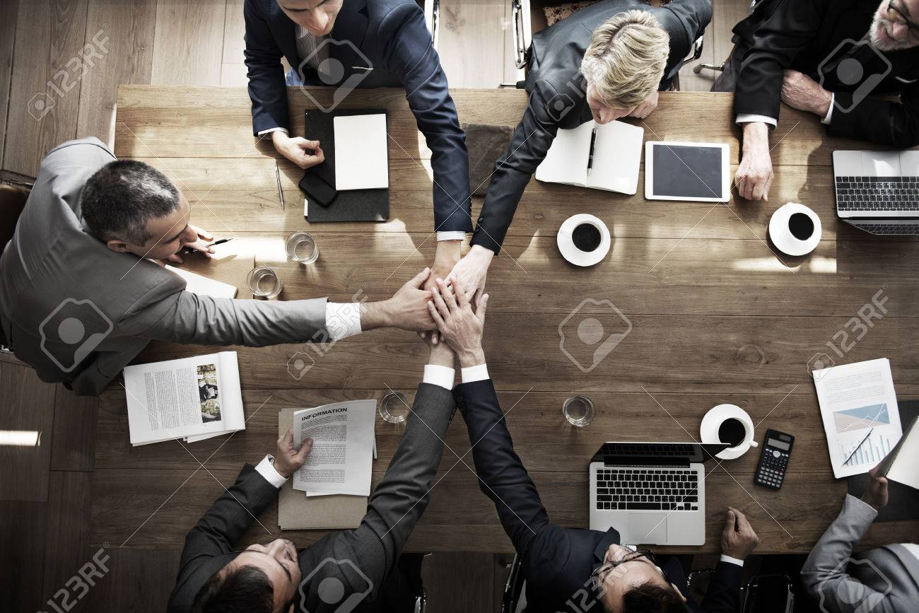 Business People Teamwork Collaboration Relation Concept - 52035374