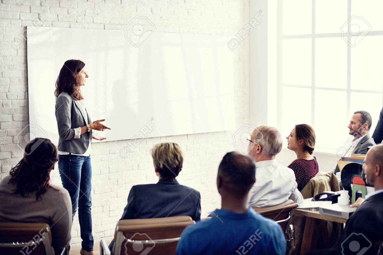 Conference Training Planning Learning Coaching Business Concept - 52037875