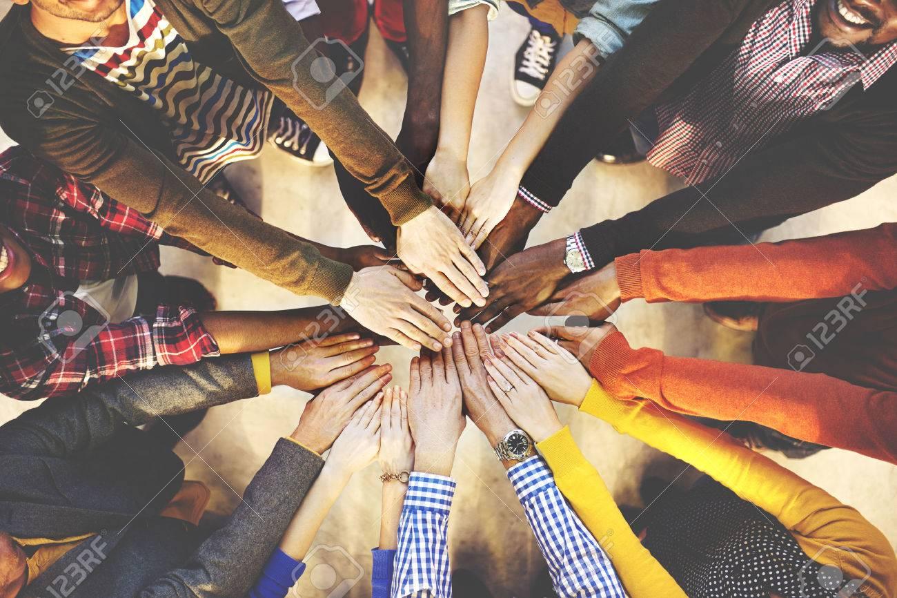 Team Teamwork Togetherness Collaboration Concept - 52324365
