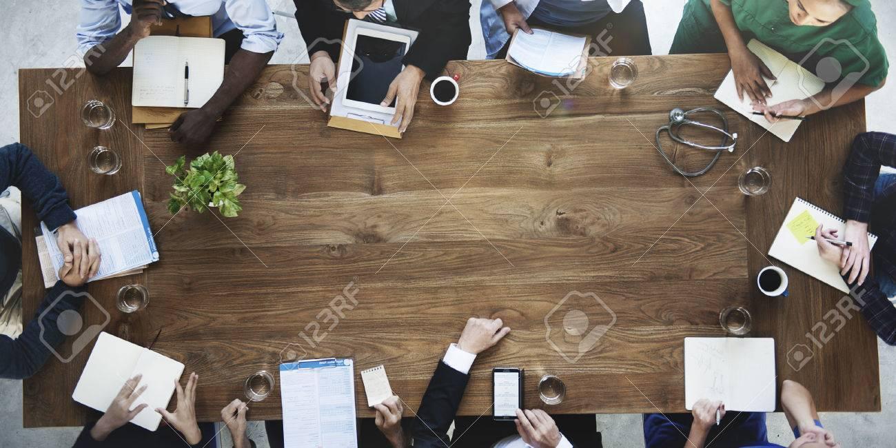 Doctor Meeting Teamwork Diagnosis Healthcare Concept - 52333688