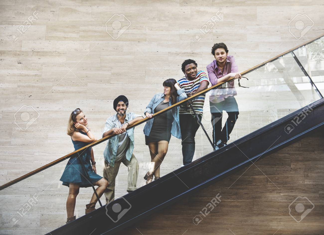 Diversity Teenager Friends Youth Culture Concept - 52325581