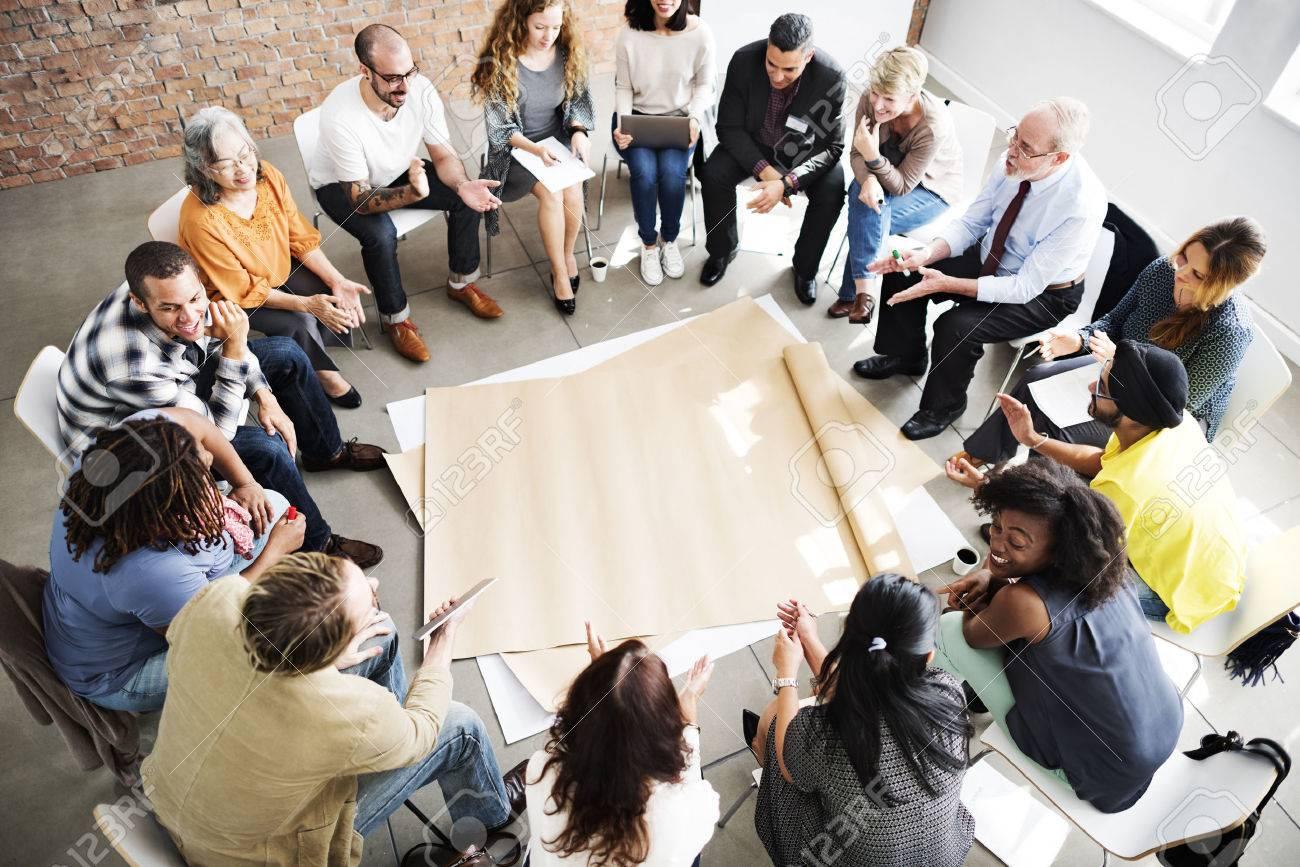 Team Teamwork Meeting Start up Concept - 52407989