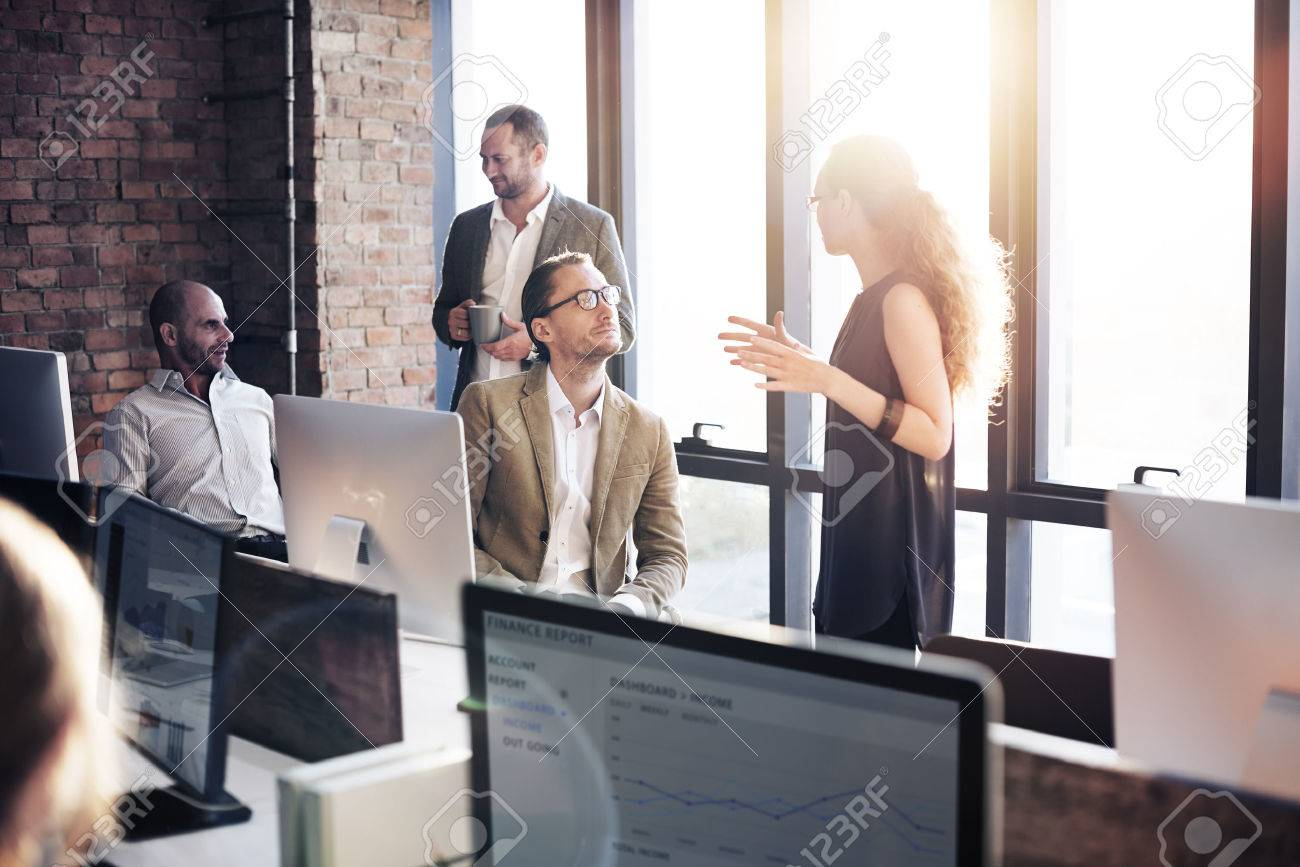 Business Communication Connection Working Concept Stock Photo - 52452699