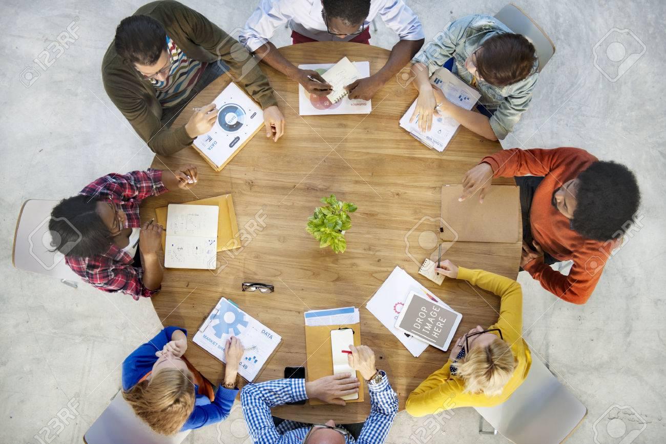 Business Planning Strategy Team Teamwork Concept - 52453171