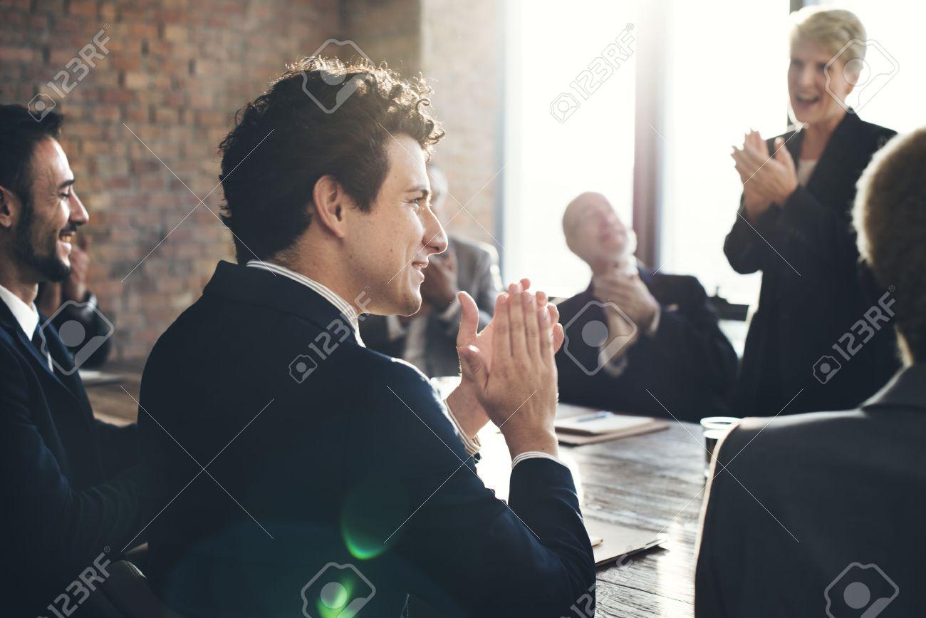 Corporate Business Team Achievement Success Concept - 52448299