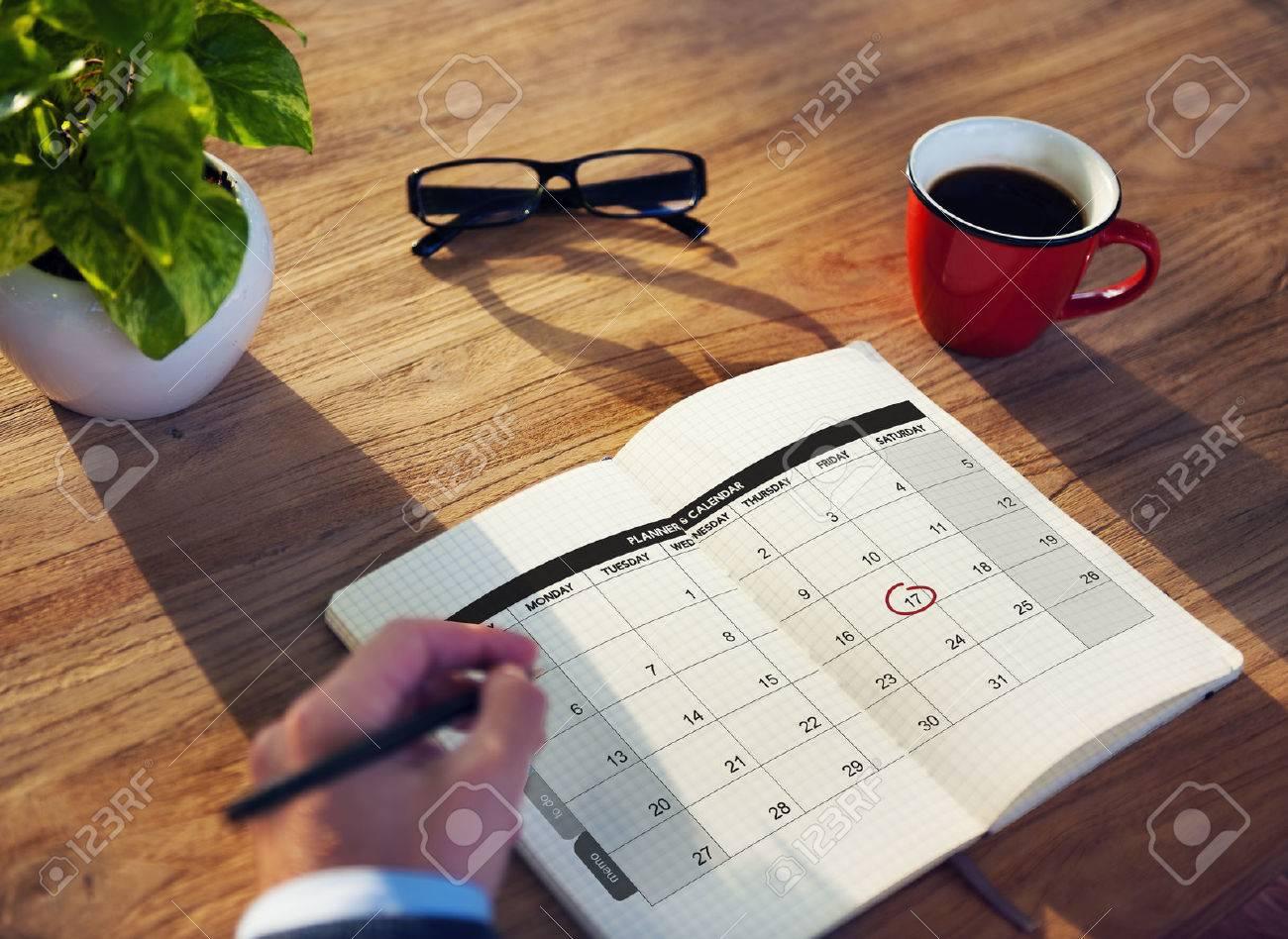 Calender Planner Organization Management Remind Concept - 52448586