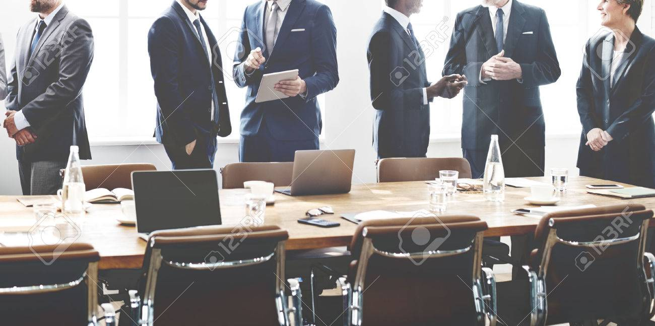 Business People Meeting Discussion Working Concept - 52798488