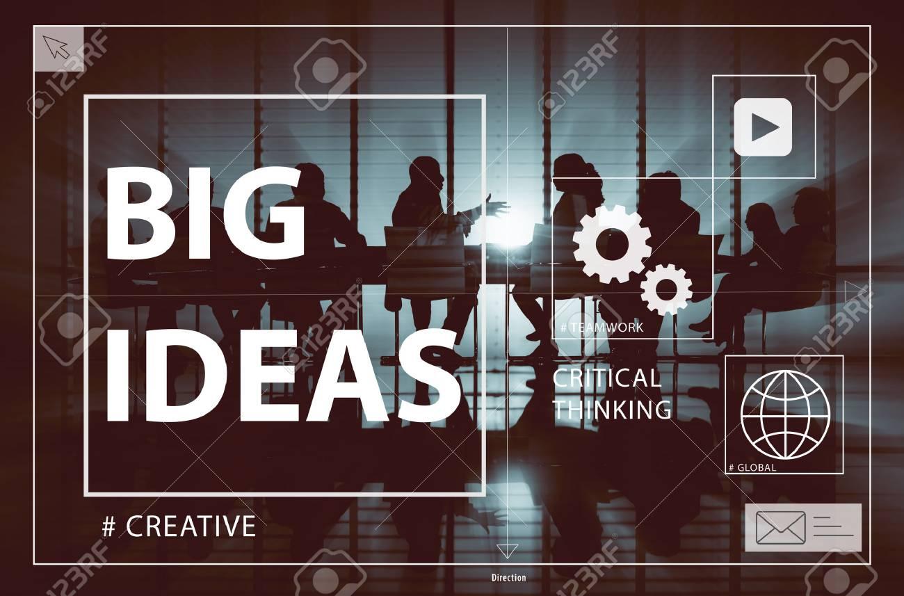 Big Ideas Creativity Design Thought Vision Concept - 52968497