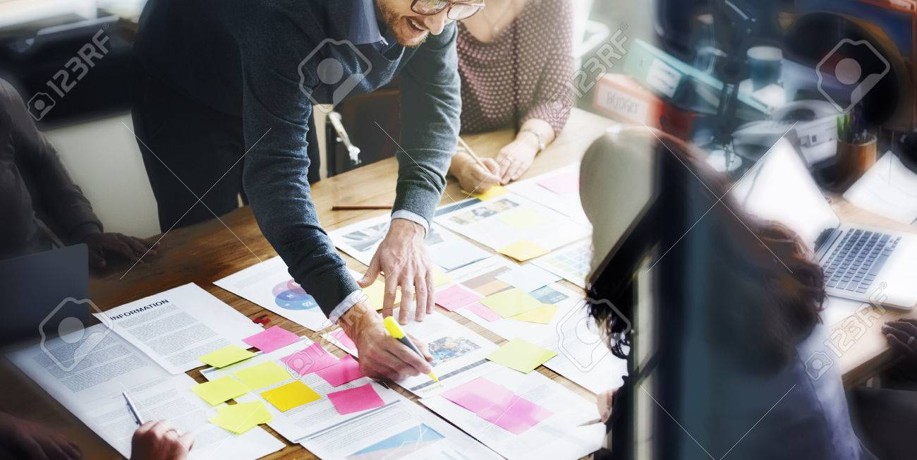 Business People Planning Strategy Analysis Office Concept - 53103013