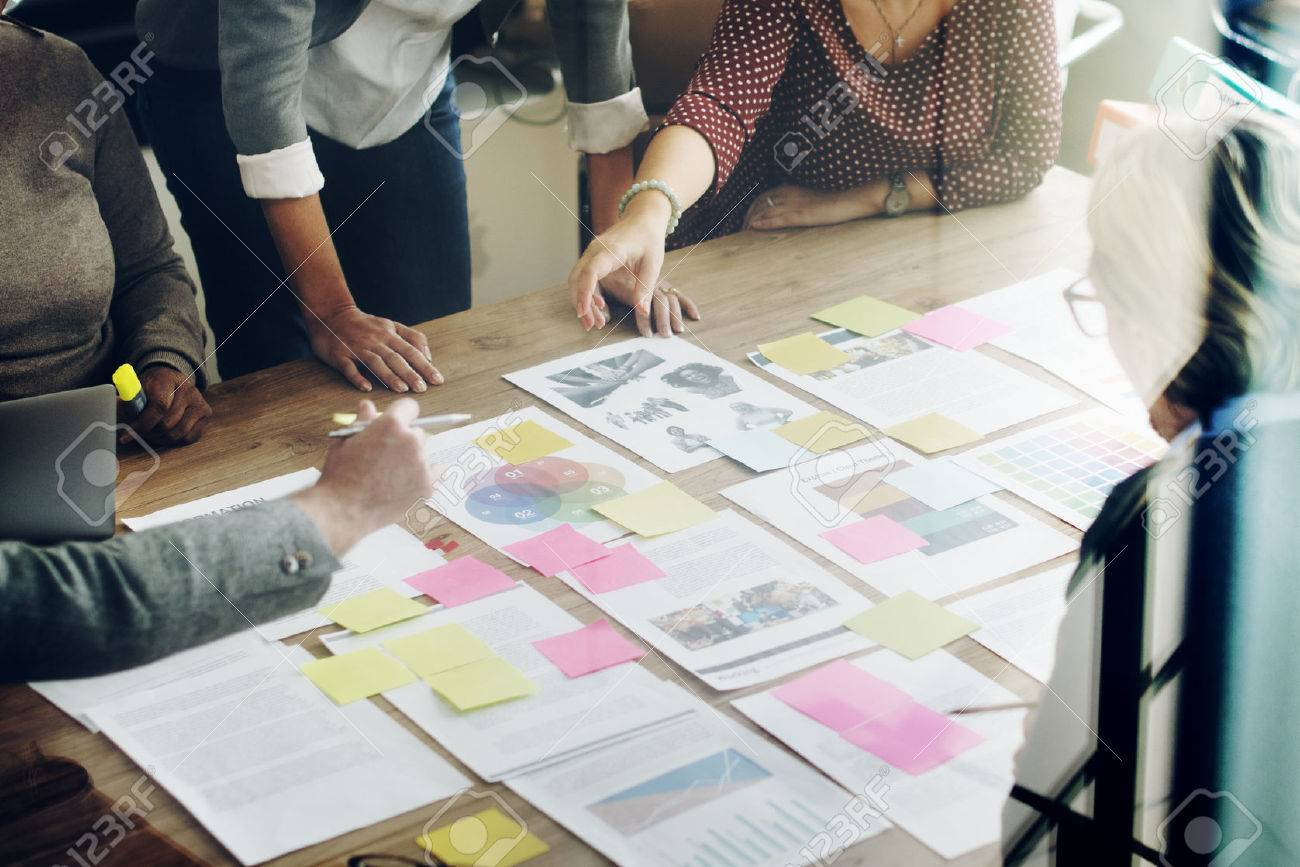 Business Team Meeting Project Planning Concept - 53102080