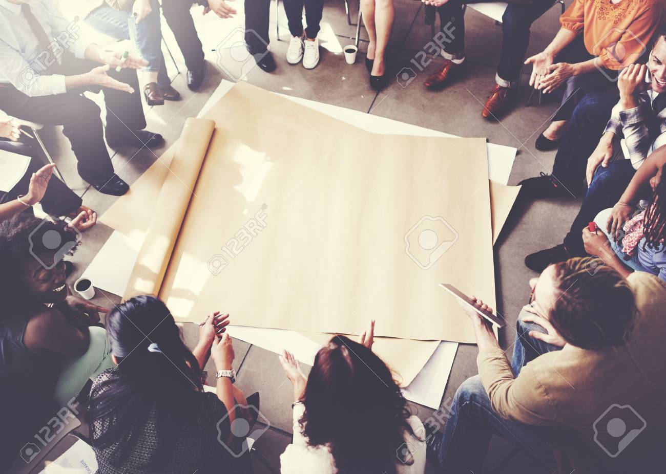 Team Teamwork Meeting Start up Concept - 53103110