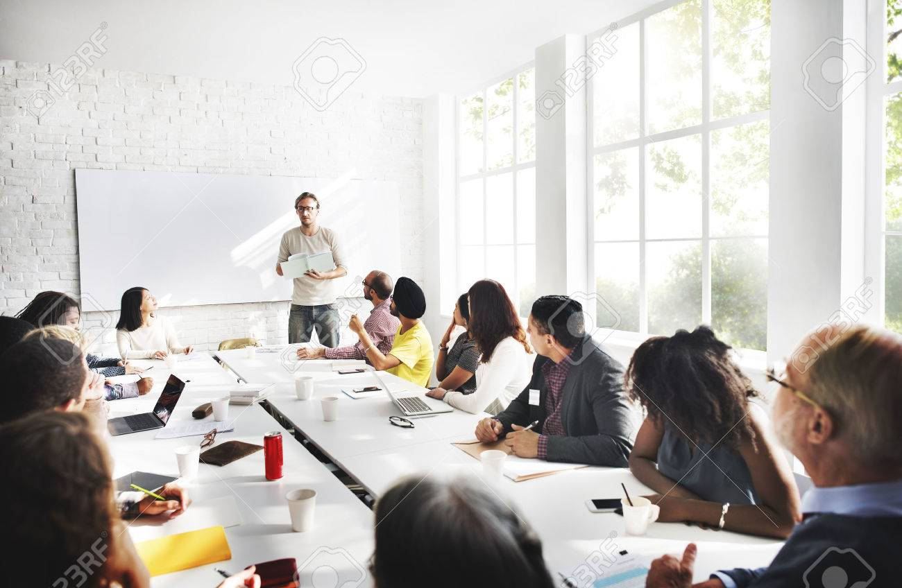 Meeting Business Corporate Business Connection Concept - 53108567