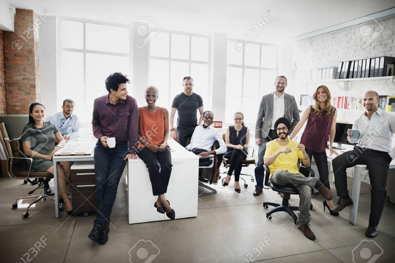 Business Team Professional Occupation Workplace Concept - 53124286