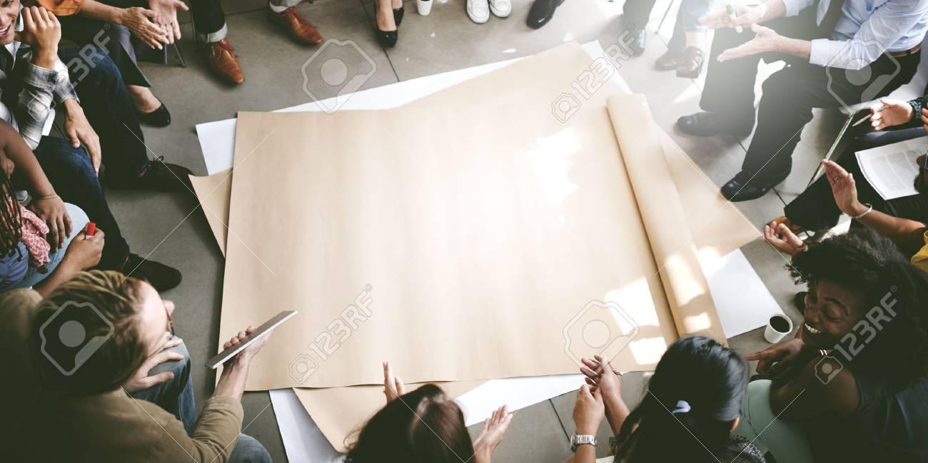 Team Teamwork Meeting Start up Concept - 53104466