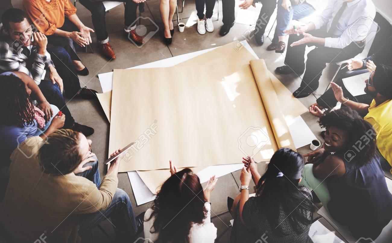 Team Teamwork Meeting Start up Concept - 53123626