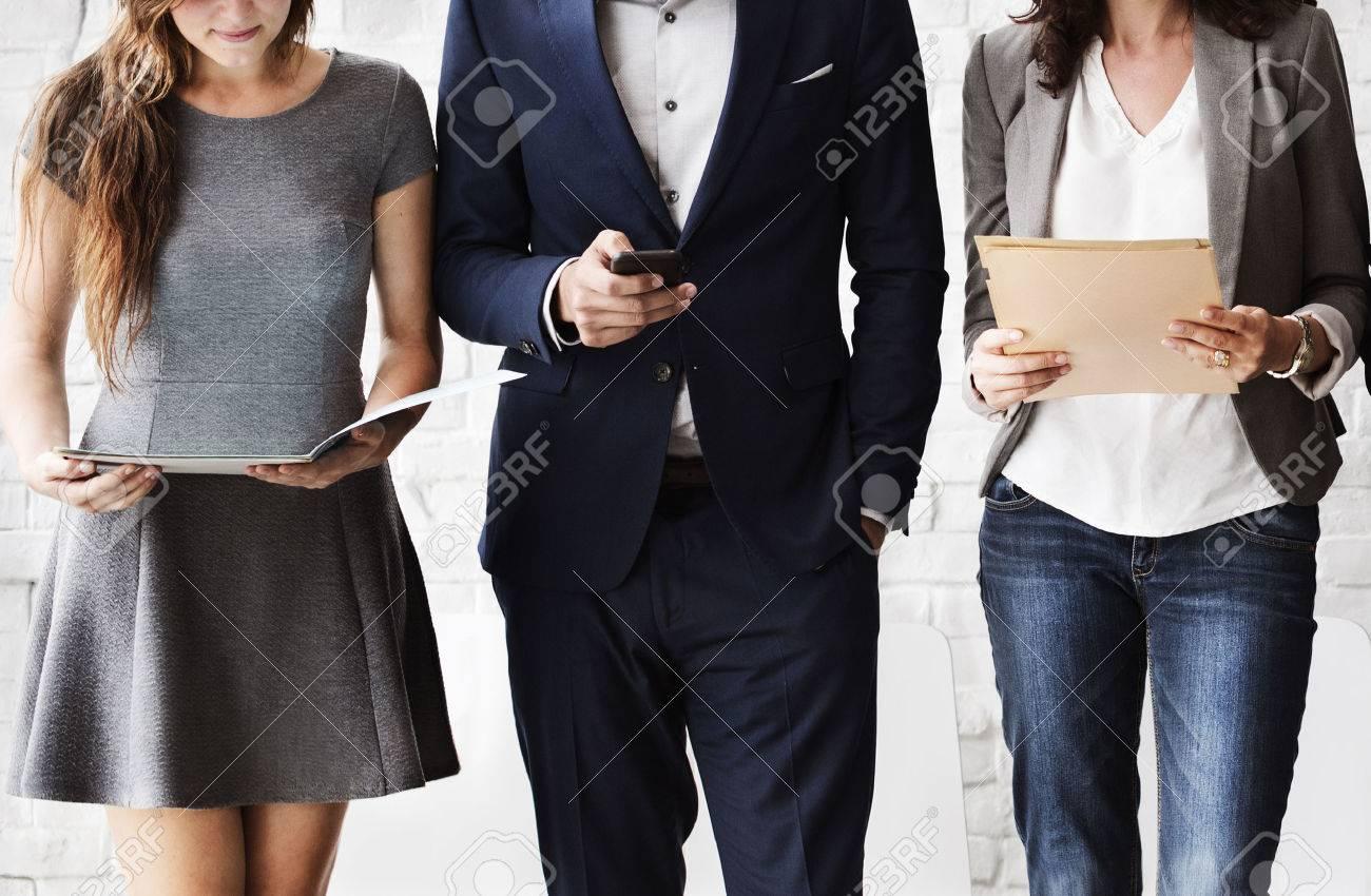 Human Resources Interview Recruitment Job Concept - 53124282