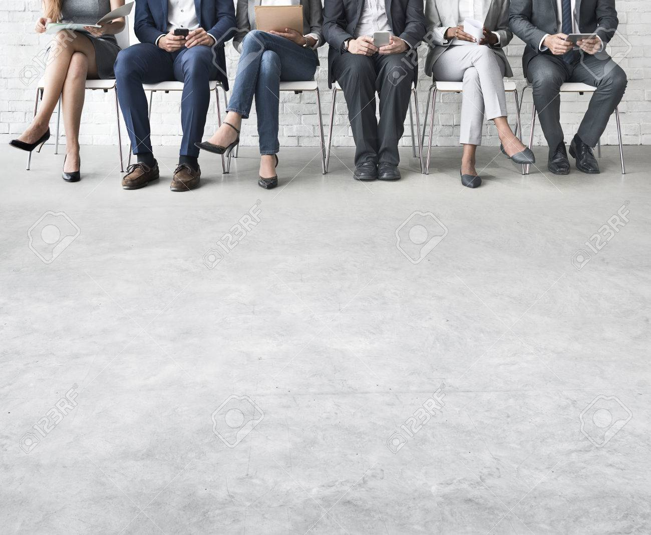 Business People Meeting Corporate Digital Device Connection Concept - 53123679