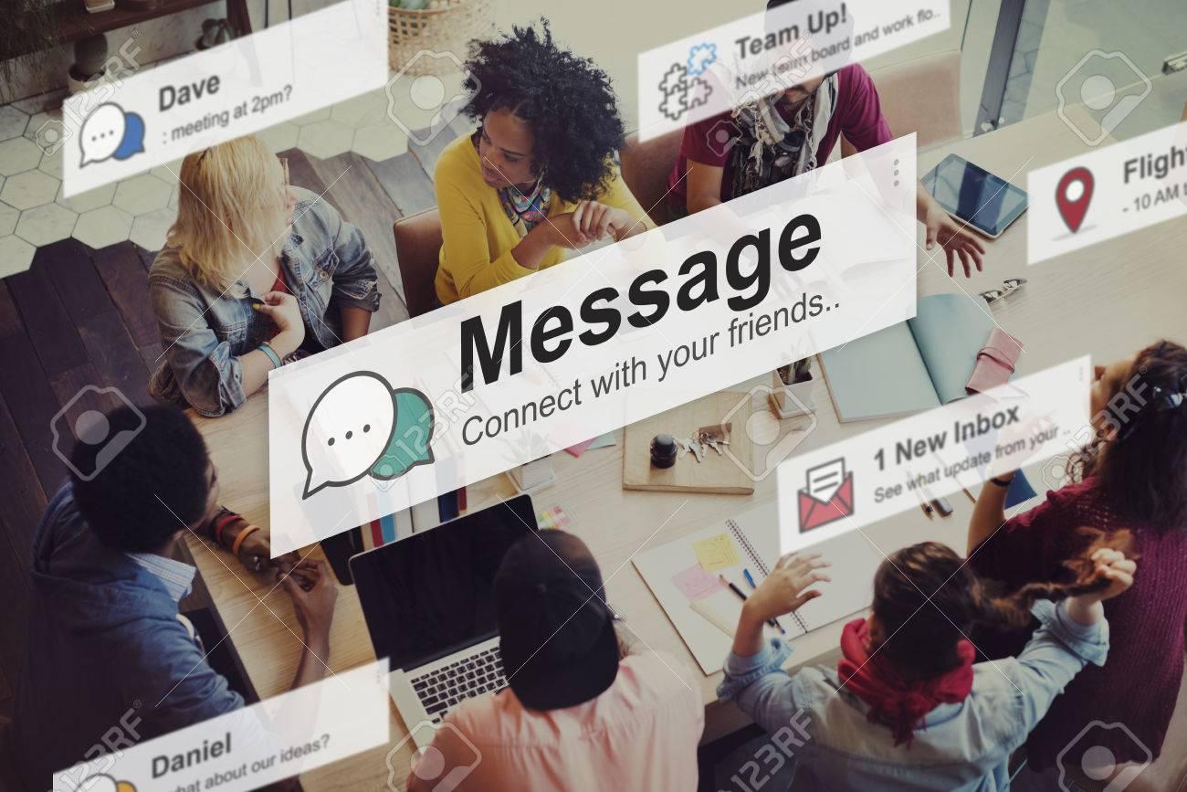 Message News Letter Communication Information Concept - 53583413