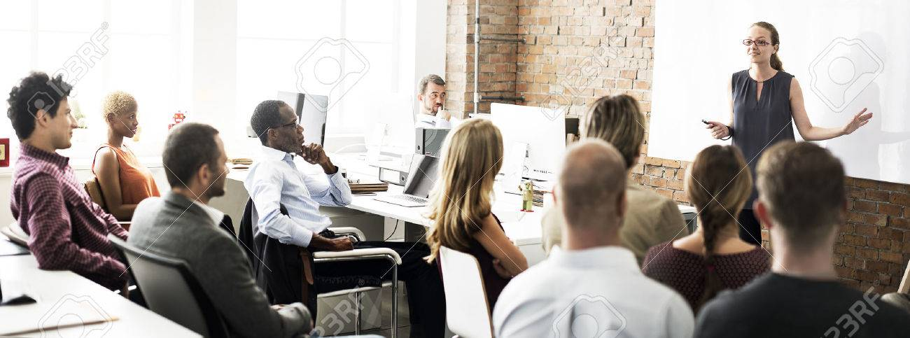 Business People Meeting Conference Seminar Concept - 53826093