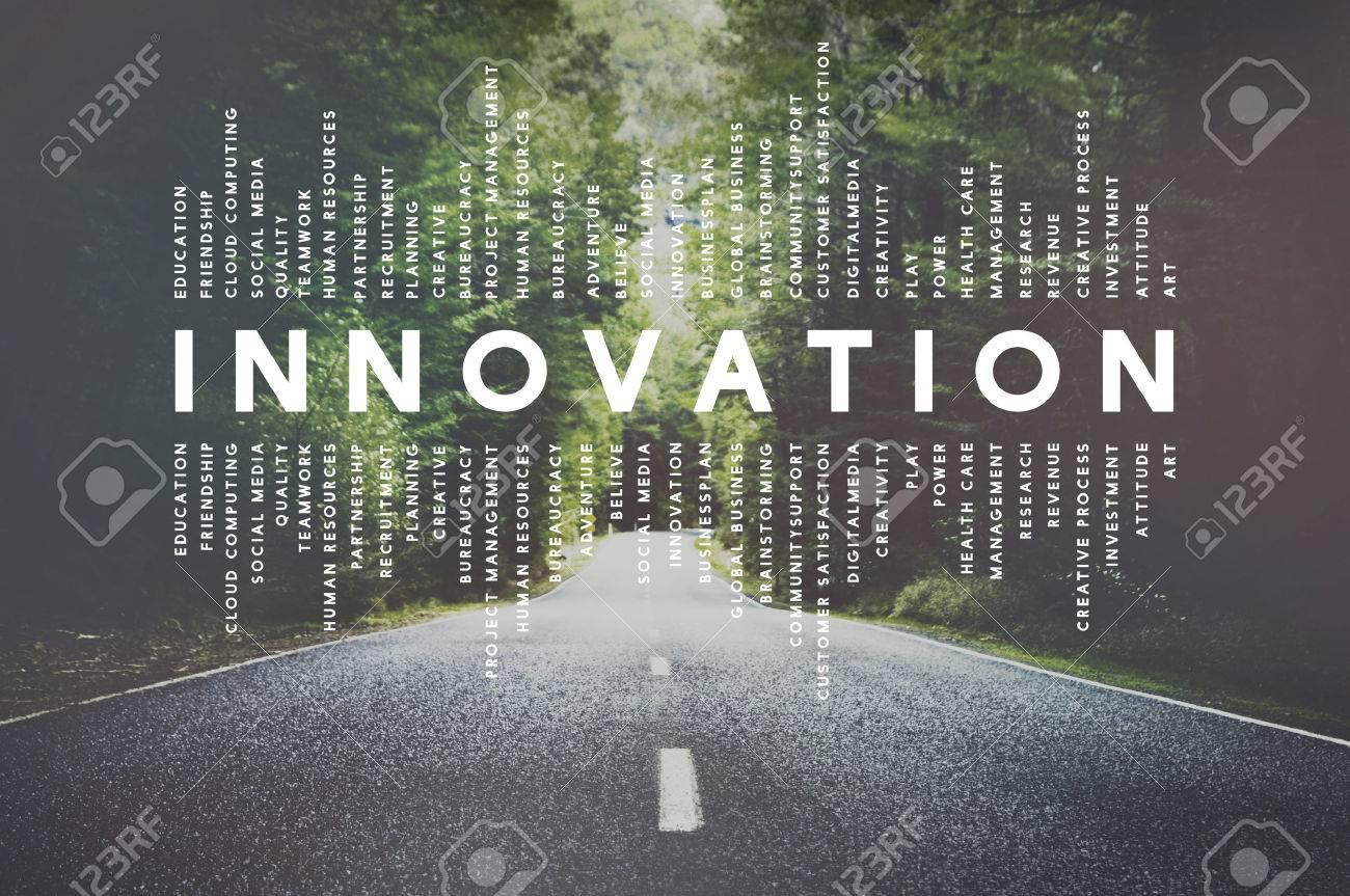 Innovation Innovate Invention Development Design Concept - 53547770