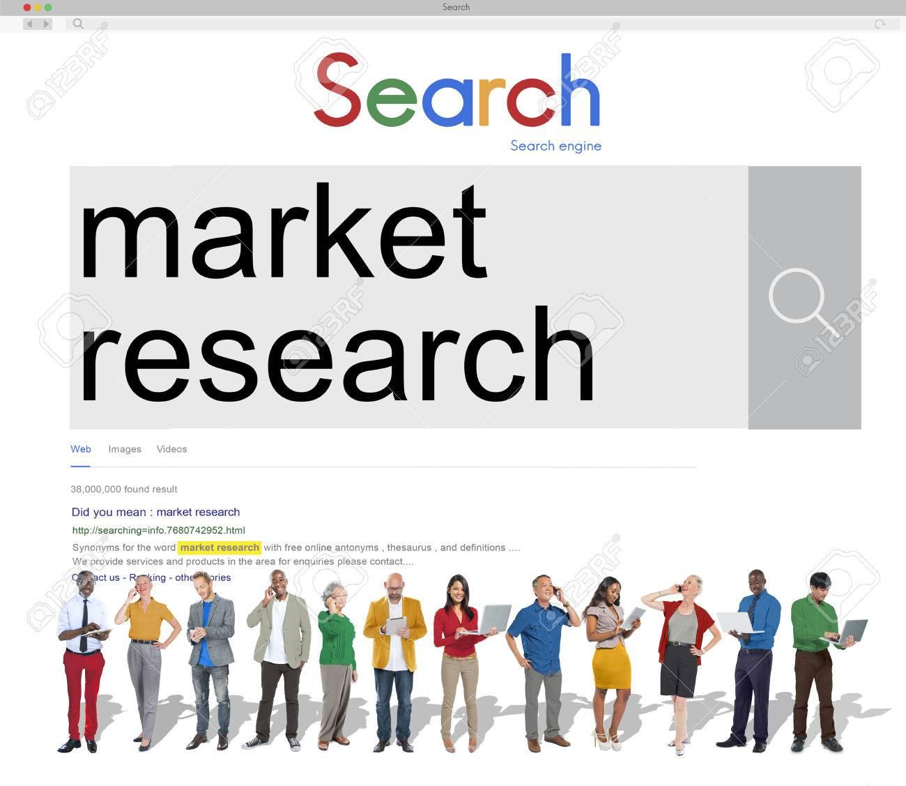 Market Research Consumer Needs Feedback Concept Stock Photo ...