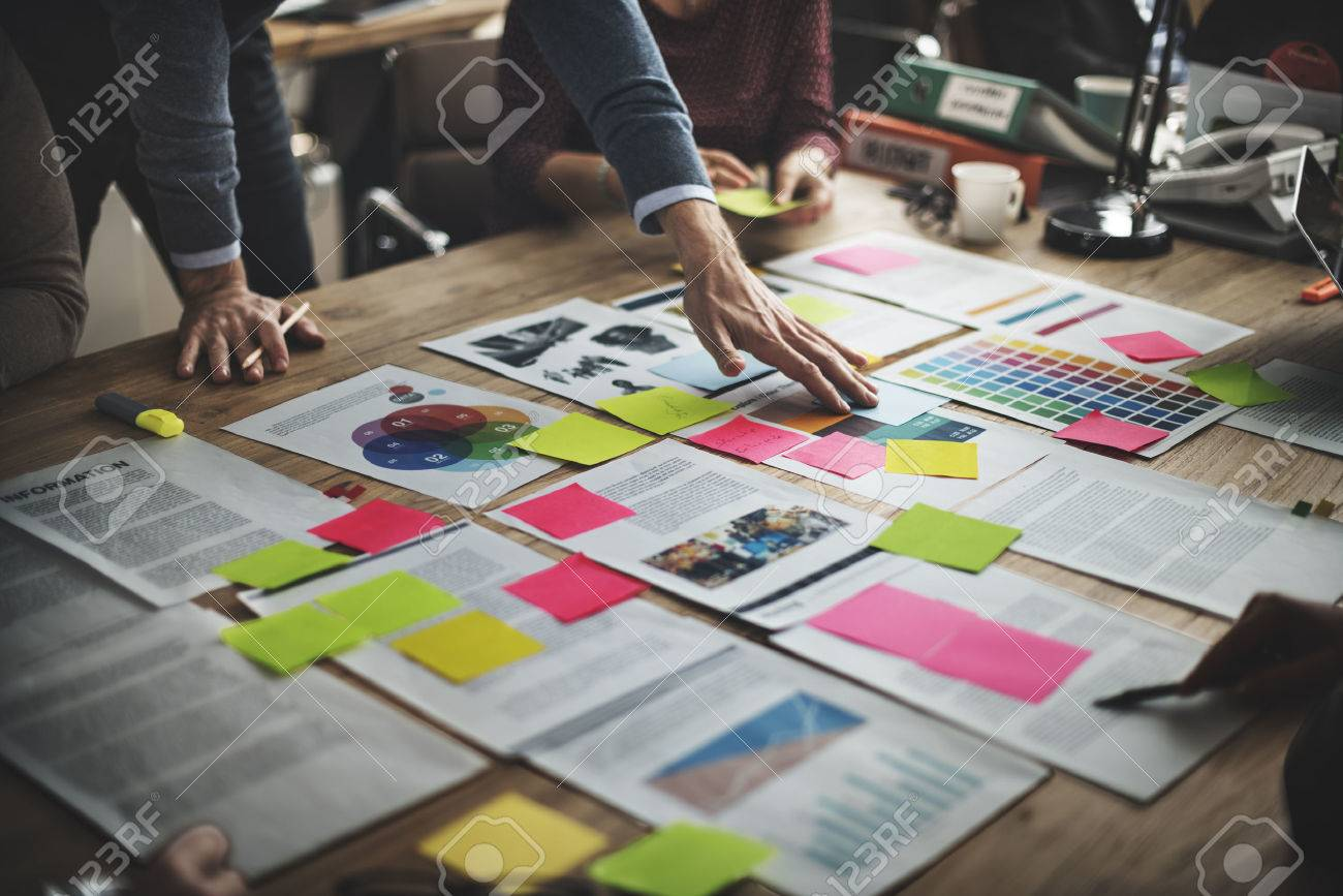 Business People Diverse Brainstorm Meeting Concept - 54156180