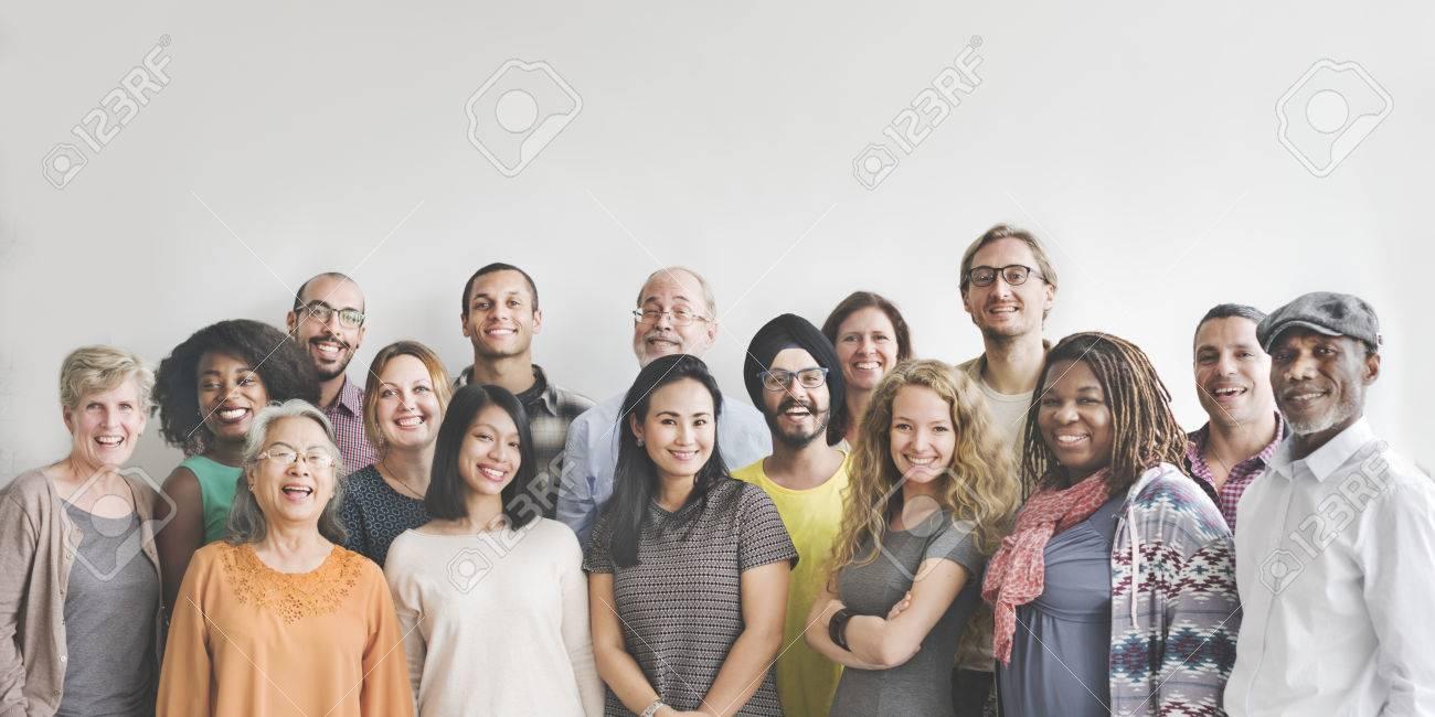 Diversity People Group Team Union Concept - 53961096