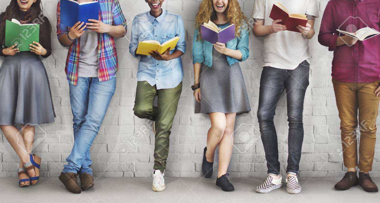 Students Youth Adult Reading Education Knowledge Concept - 53977288