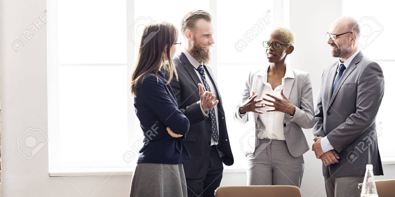 Business Group Meeting Discussion Strategy Working Concept - 54641488
