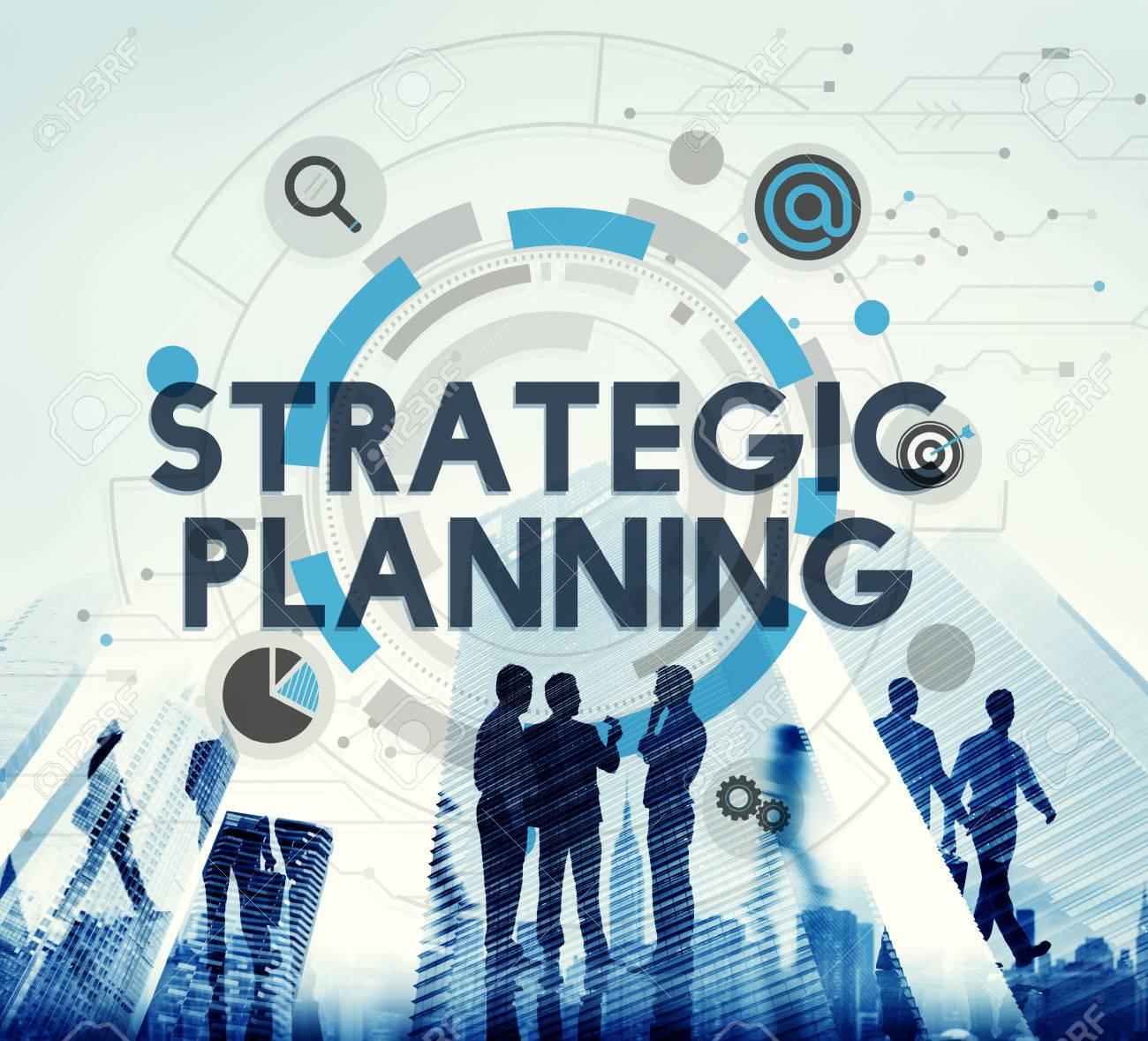 Strategic Planning Process Action Plan Concept - 54642614