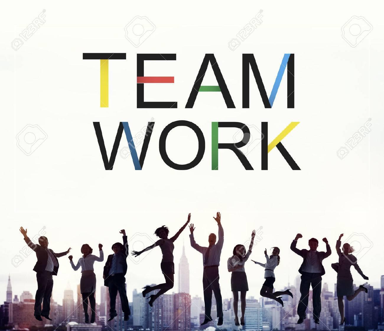 チームワーク チーム連合団結協力同盟概念 の写真素材・画像素材 Image ...