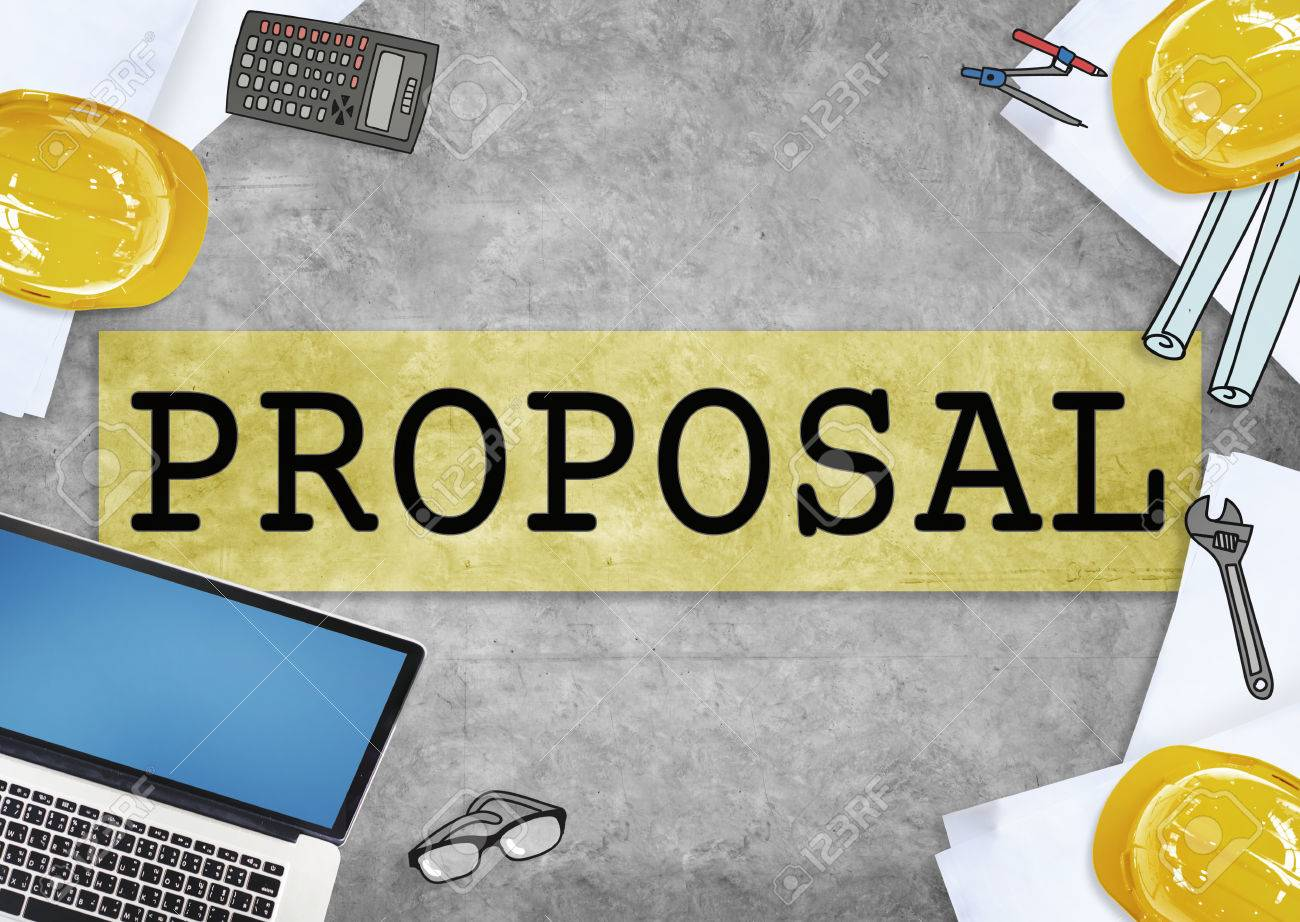 proposal suggestion business contract concept stock photo picture