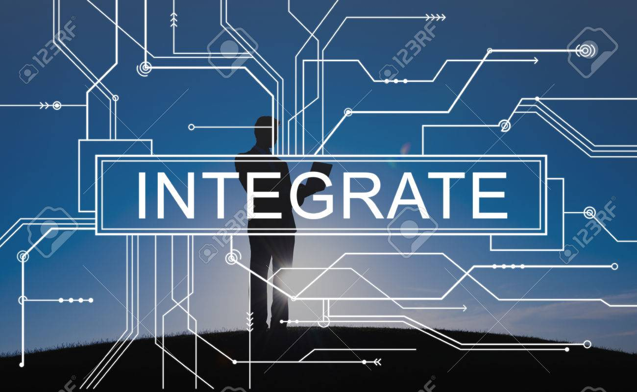 Integrate Circuit Board Graphics Concept Stock Photo, Picture And ...