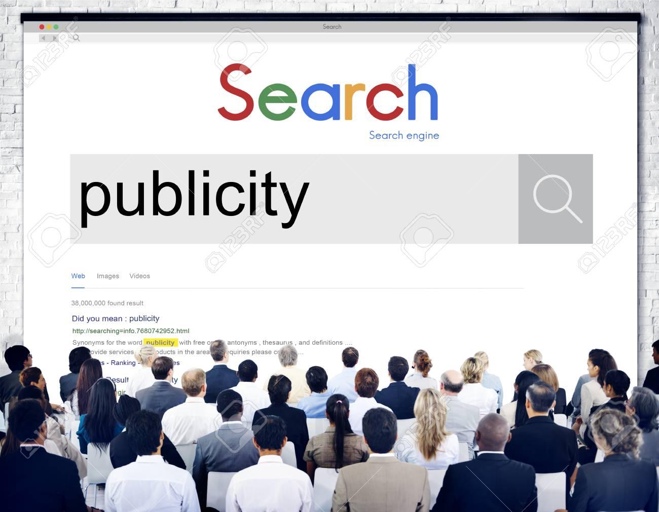 Publicity Public Attention Propaganda Boost Relation Concept - 54246131