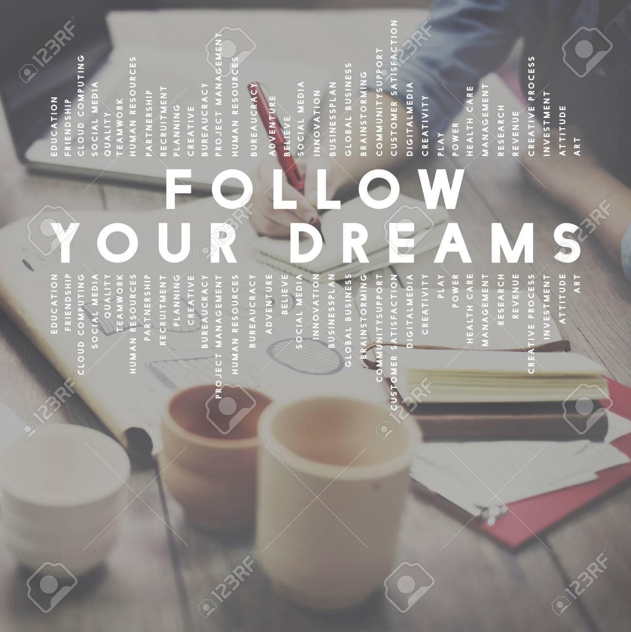 follow your dreams aspiration dreamer concept stock photo picture follow your dreams aspiration dreamer concept stock photo 54288166