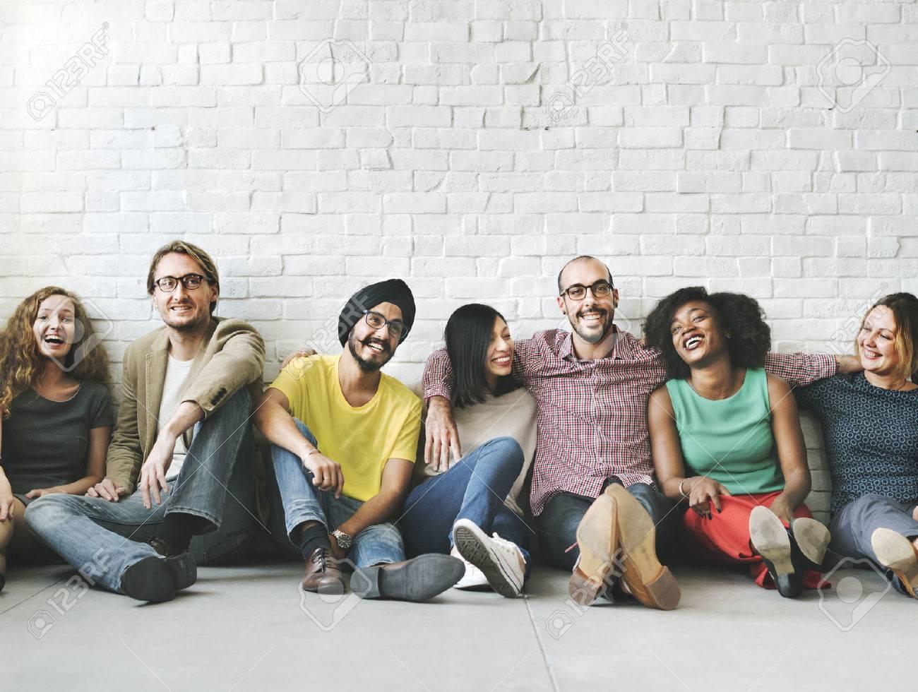 People Diversity Friends Friendship Happiness Concept - 54341622