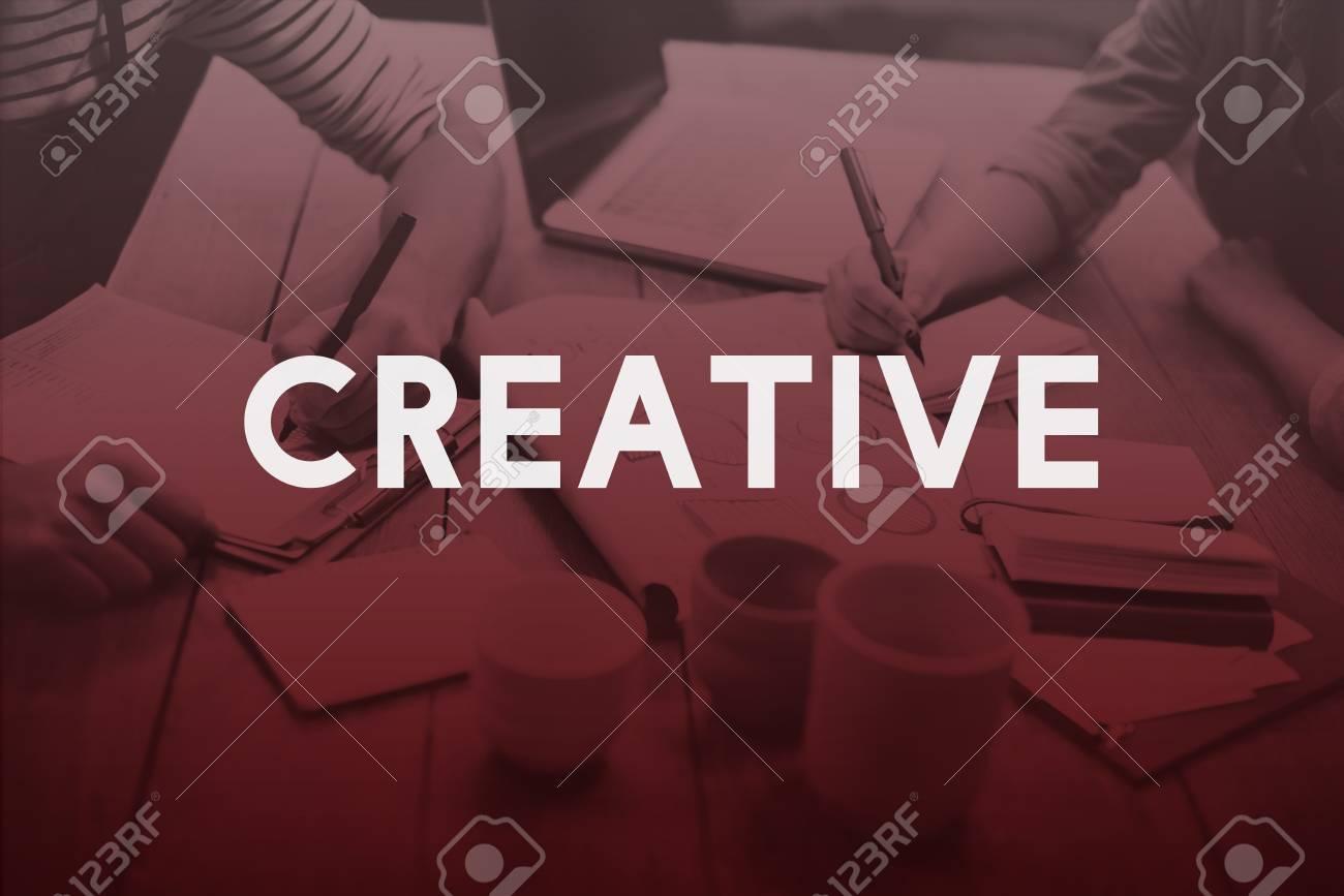 Creative Creativity Design Ideas Inspiration Innovation Concept - 54697055