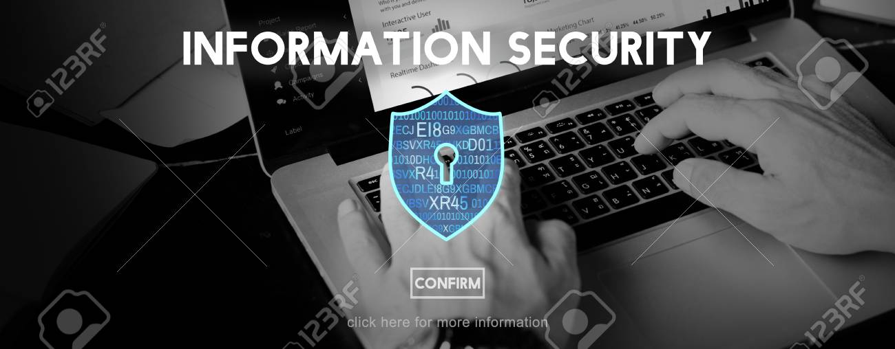 Information Security Protection Privacy Interface Concept - 54628511