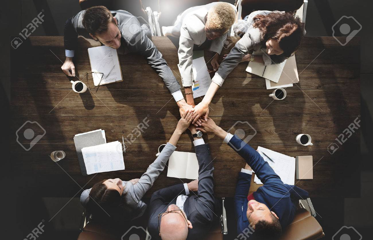 Business People Meeting Corporate Connection Togetherness Concept - 54774896