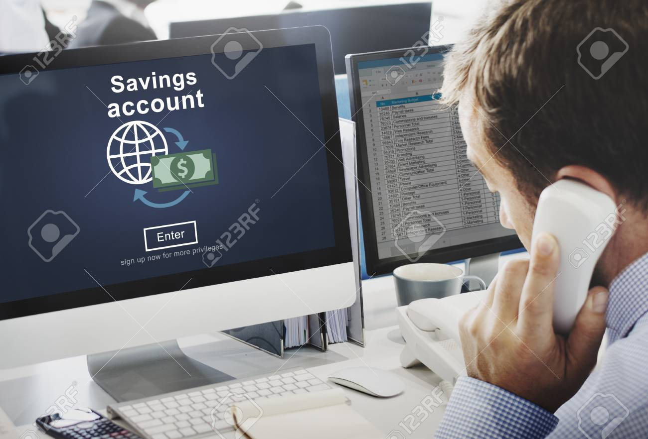 savings account money global finance concept stock photo picture