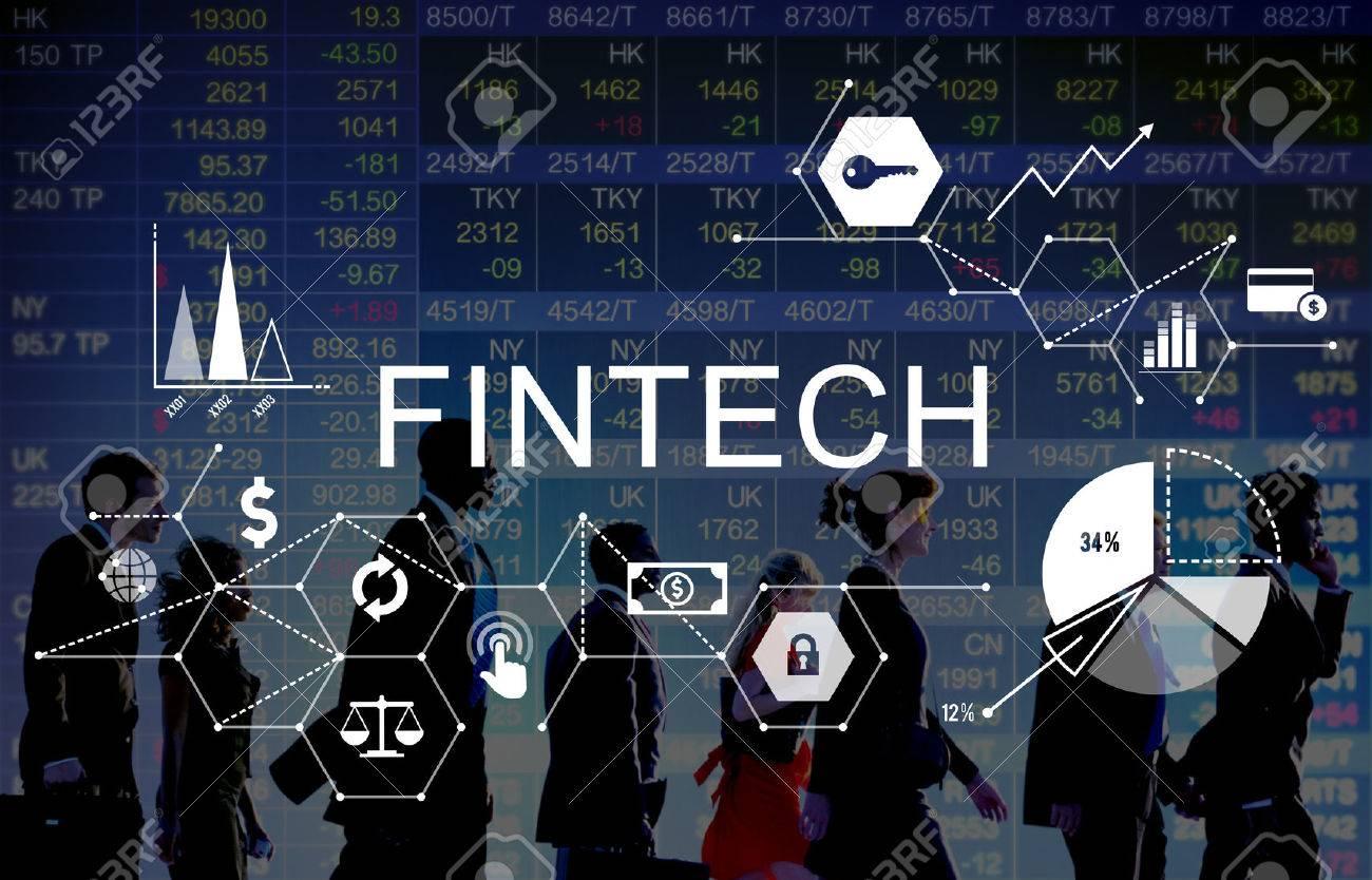 Fintech Investment Financial Internet Technology Concept - 54801919