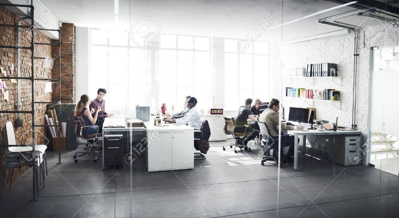Business Team Professional Occupation Workplace Concept - 54801032