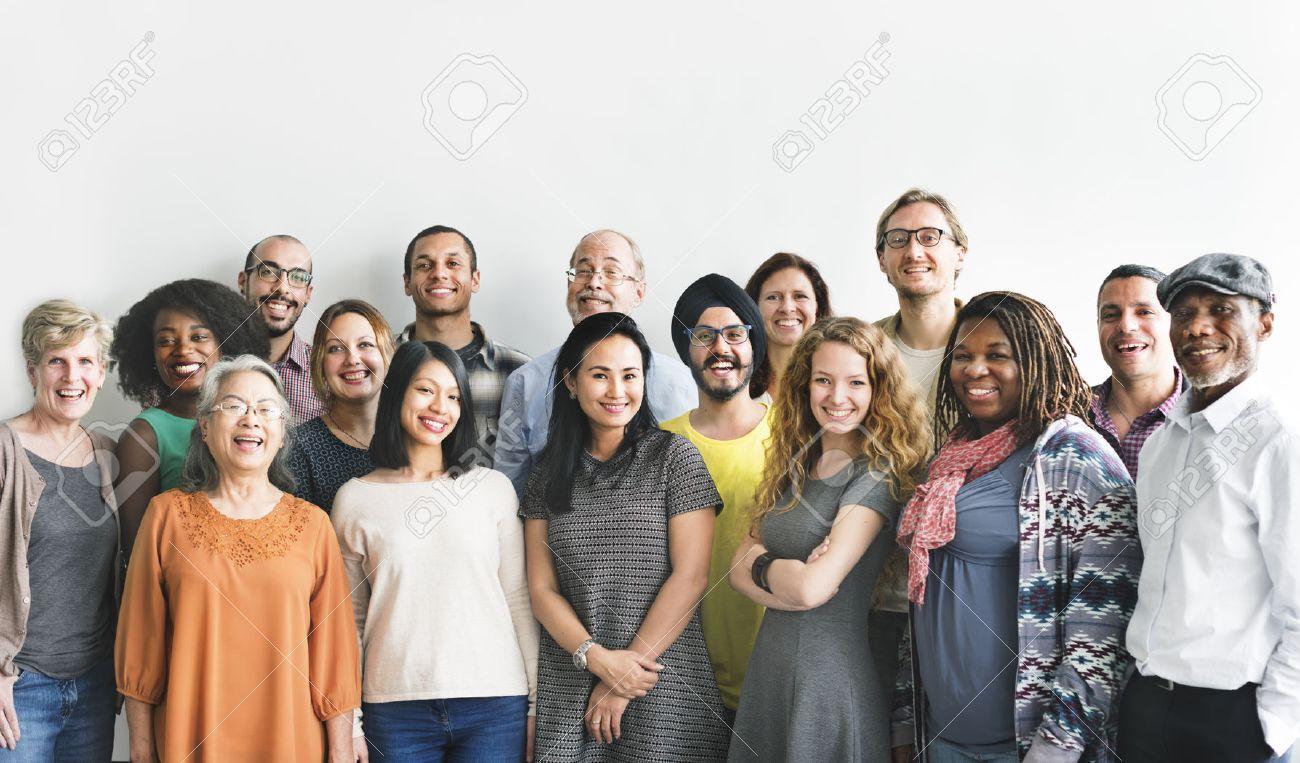 Diversity People Group Team Union Concept - 54882975