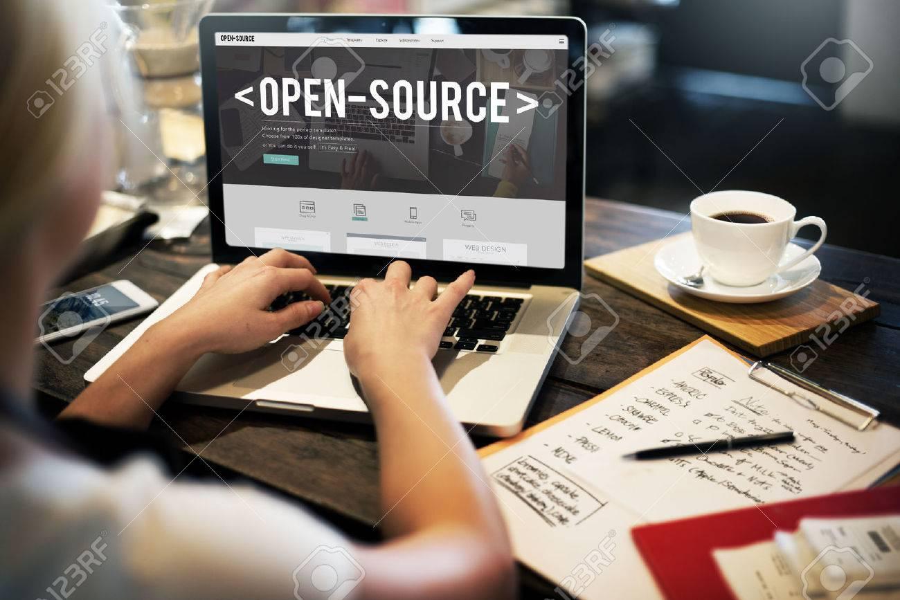 Open Source Developer Program Software User Concept - 55162454