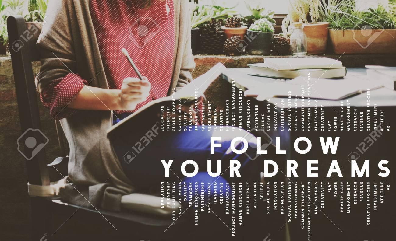 follow your dreams aspiration dreamer concept stock photo picture follow your dreams aspiration dreamer concept stock photo 55776371