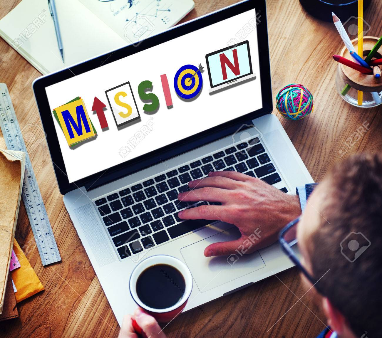 mission objective plan strategy target goals aspirations concept mission objective plan strategy target goals aspirations concept stock photo 57393002
